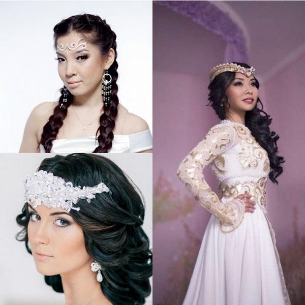 Фото причесок невест с кавказа