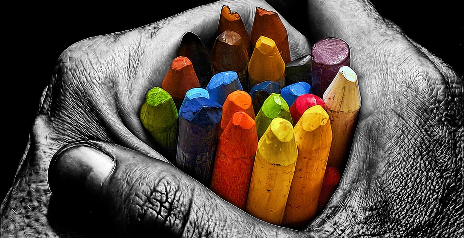 Какие цвета наиболее восприимчивы человеком