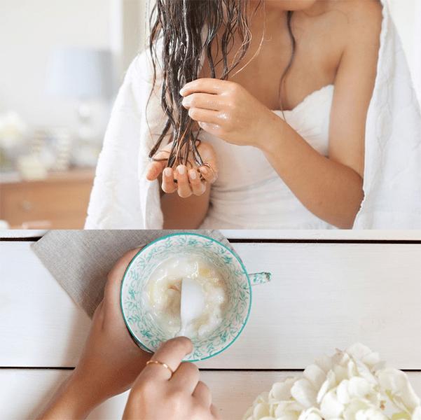 maslo kokosa maska Кокосовое масло для волос