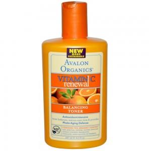 Балансирующий тоник «Обновление с витамином С» от Avalon Organics 300x300 Где заказывать косметику онлайн?