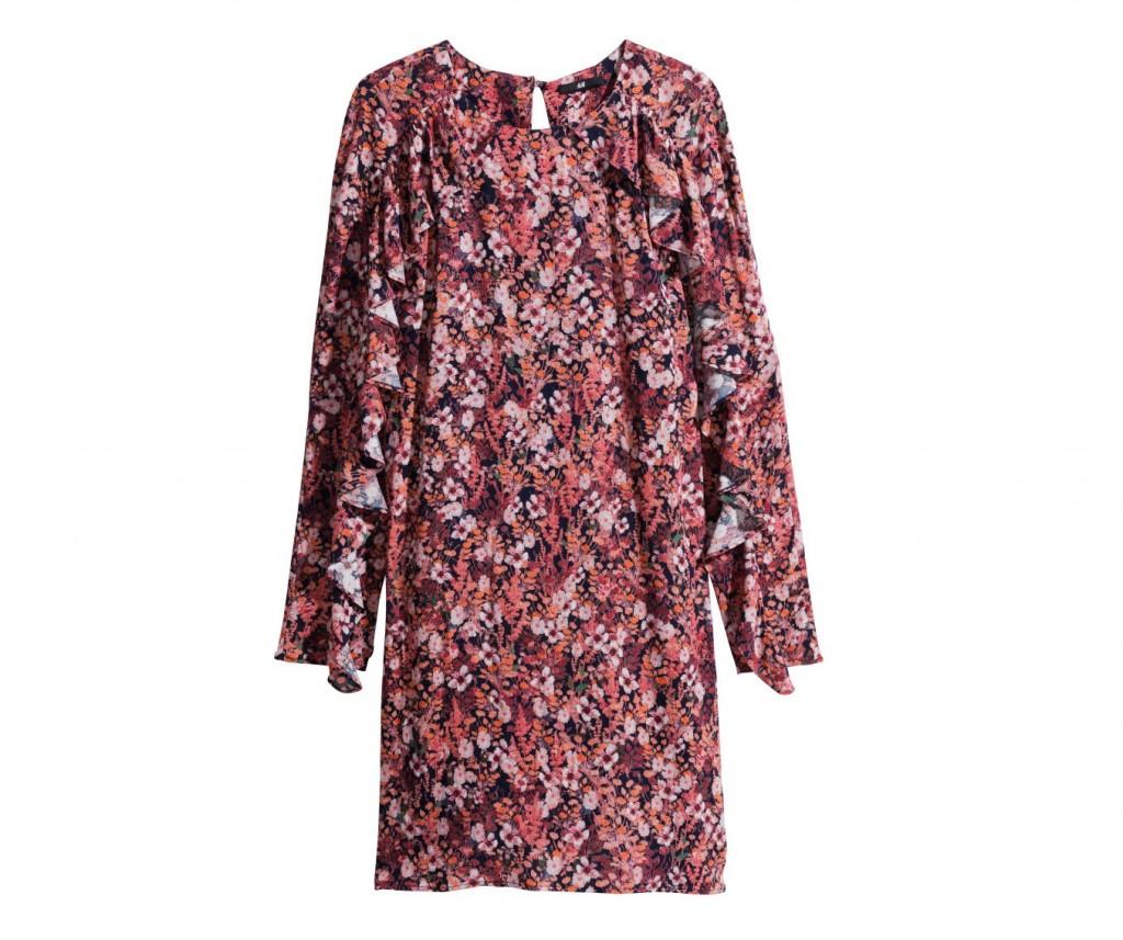 Платье с воланами HM 1499 руб. 1024x857 Антикризисные меры: на чем МОЖНО и НЕЛЬЗЯ экономить