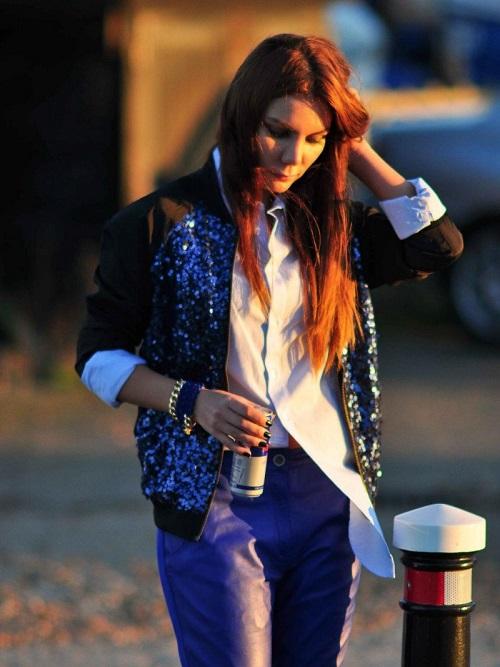 Street Style нет 4 7 «нет», которые мы скажем блестящей одежде