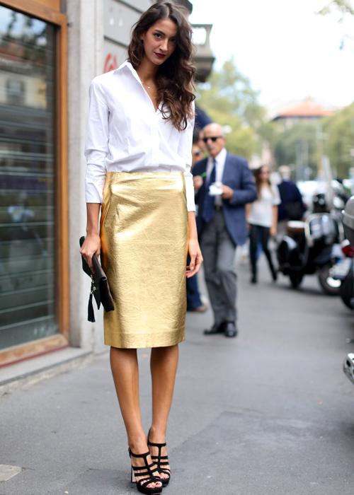 Street Style 10 7 «нет», которые мы скажем блестящей одежде