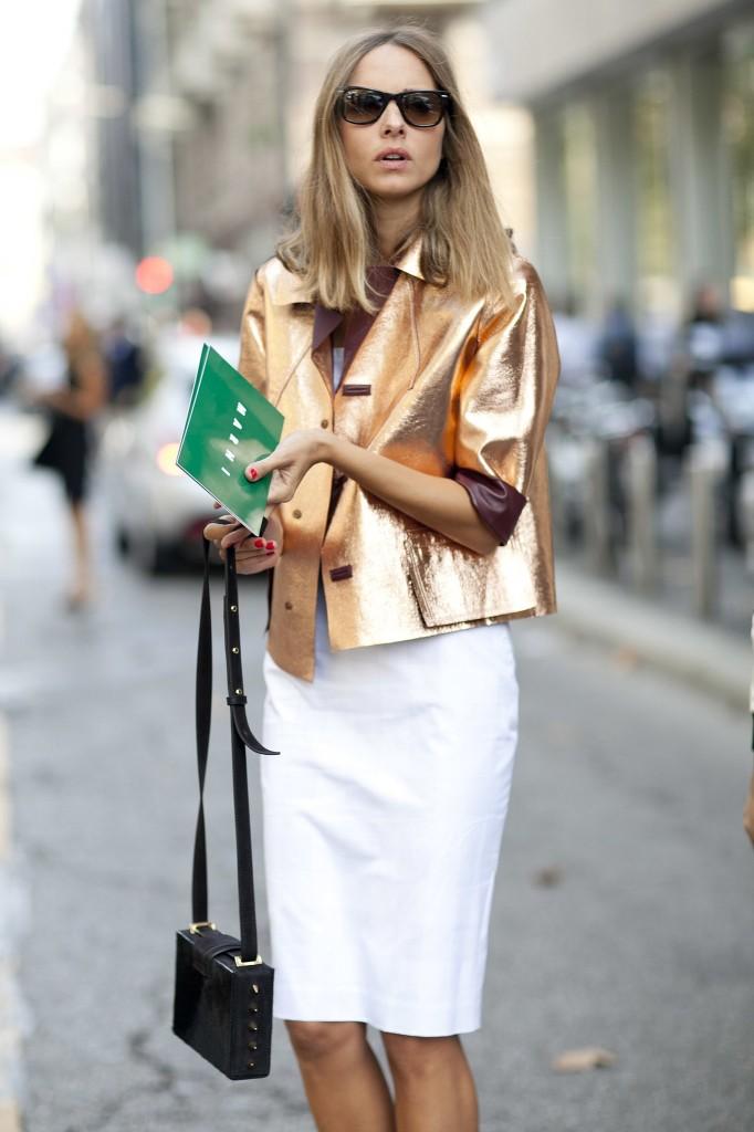 Street Style 16 682x1024 7 «нет», которые мы скажем блестящей одежде