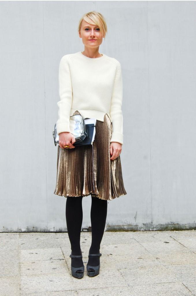 Street Style 8 7 «нет», которые мы скажем блестящей одежде