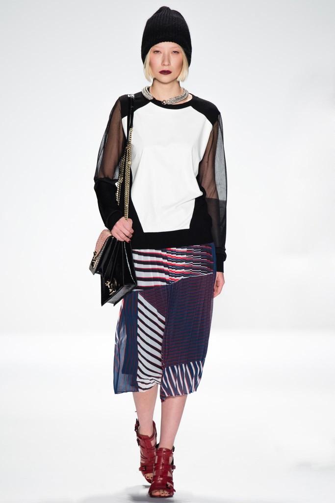 Tory Burch осень зима 20142015 683x1024 5 идей, как носить юбки зимой  и не замерзнуть