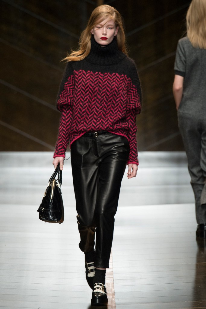 Trussardi Fall Winter 2014 2015 Womens Designer Clothing 5 683x1024 6 модных «фу», которые мы скажем себе зимой