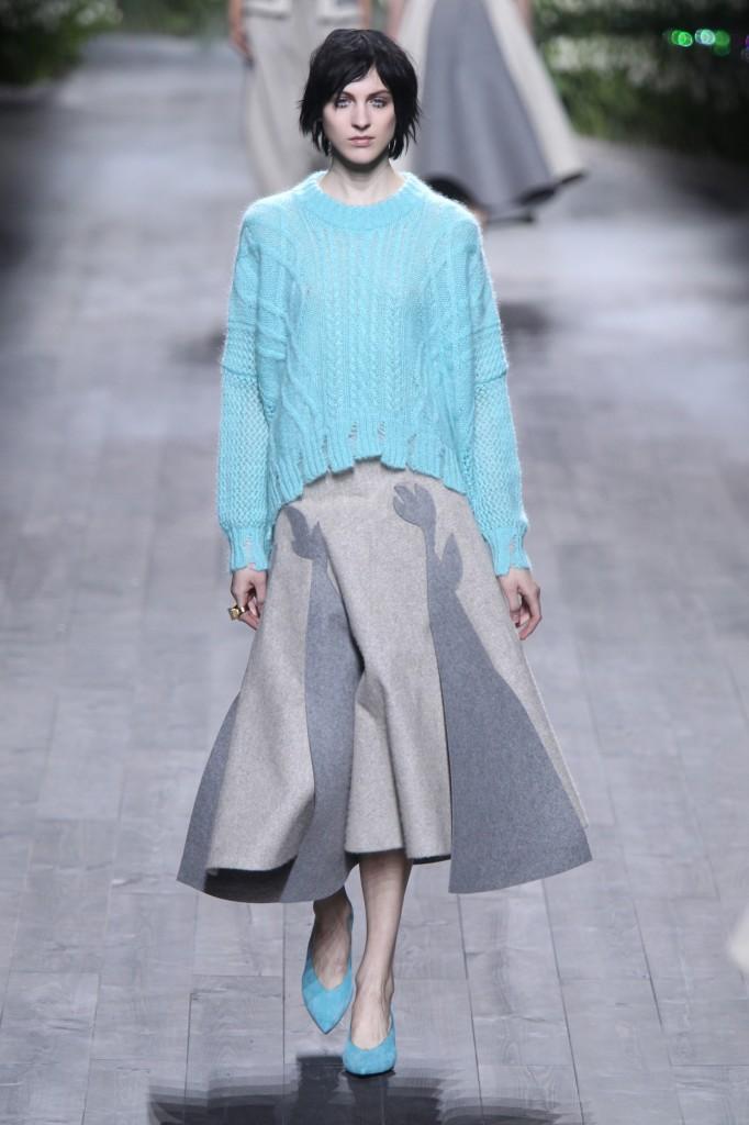 Vionnet осень зима 20142015 682x1024 5 идей, как носить юбки зимой  и не замерзнуть