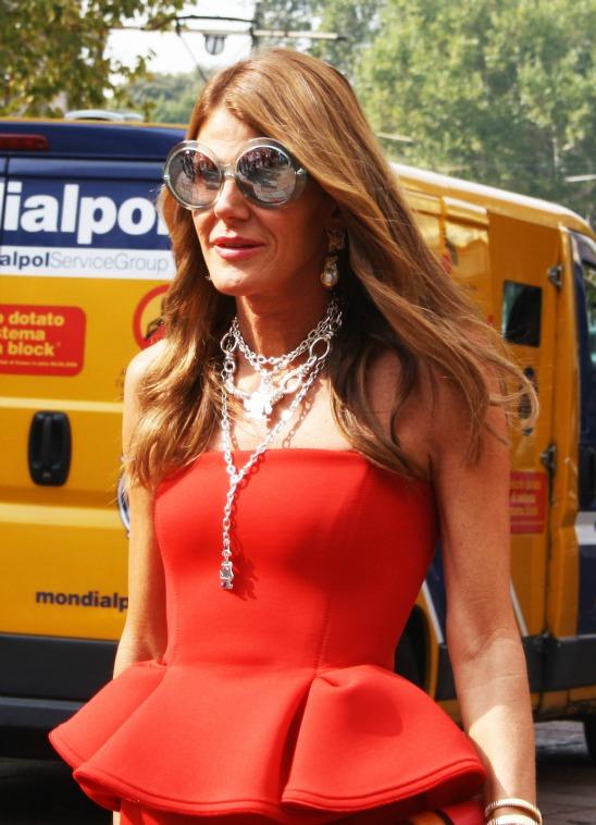 adorn london jewelry trends blog anna dello russo milan fashion week ss13 Как носить ожерелье, чтобы не прибавить себе 10 лет?