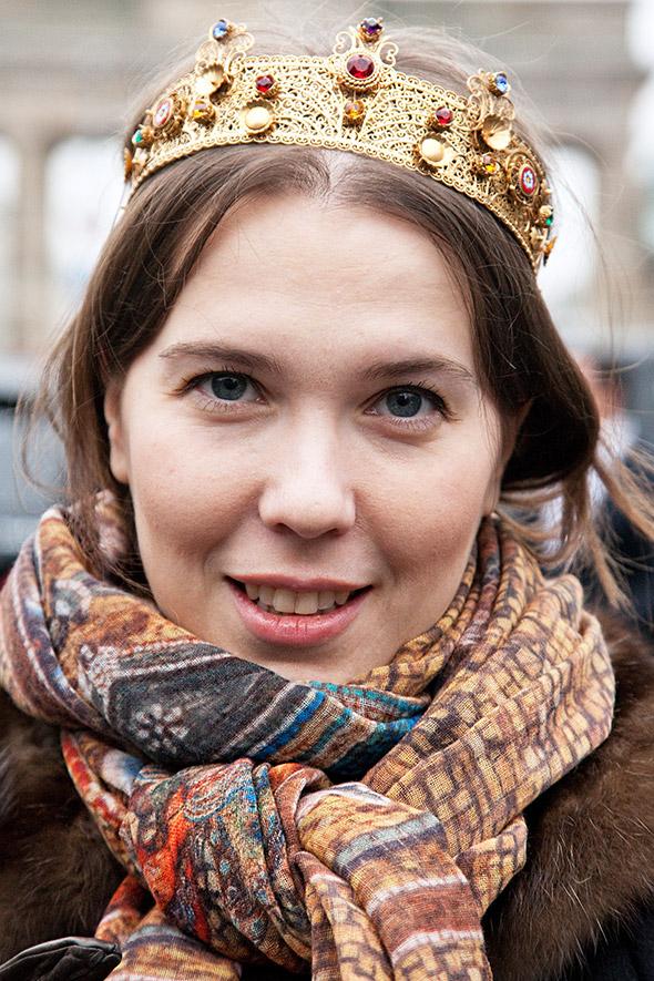 berlin fashion week adorn london jewellery street style b Как носить ожерелье, чтобы не прибавить себе 10 лет?