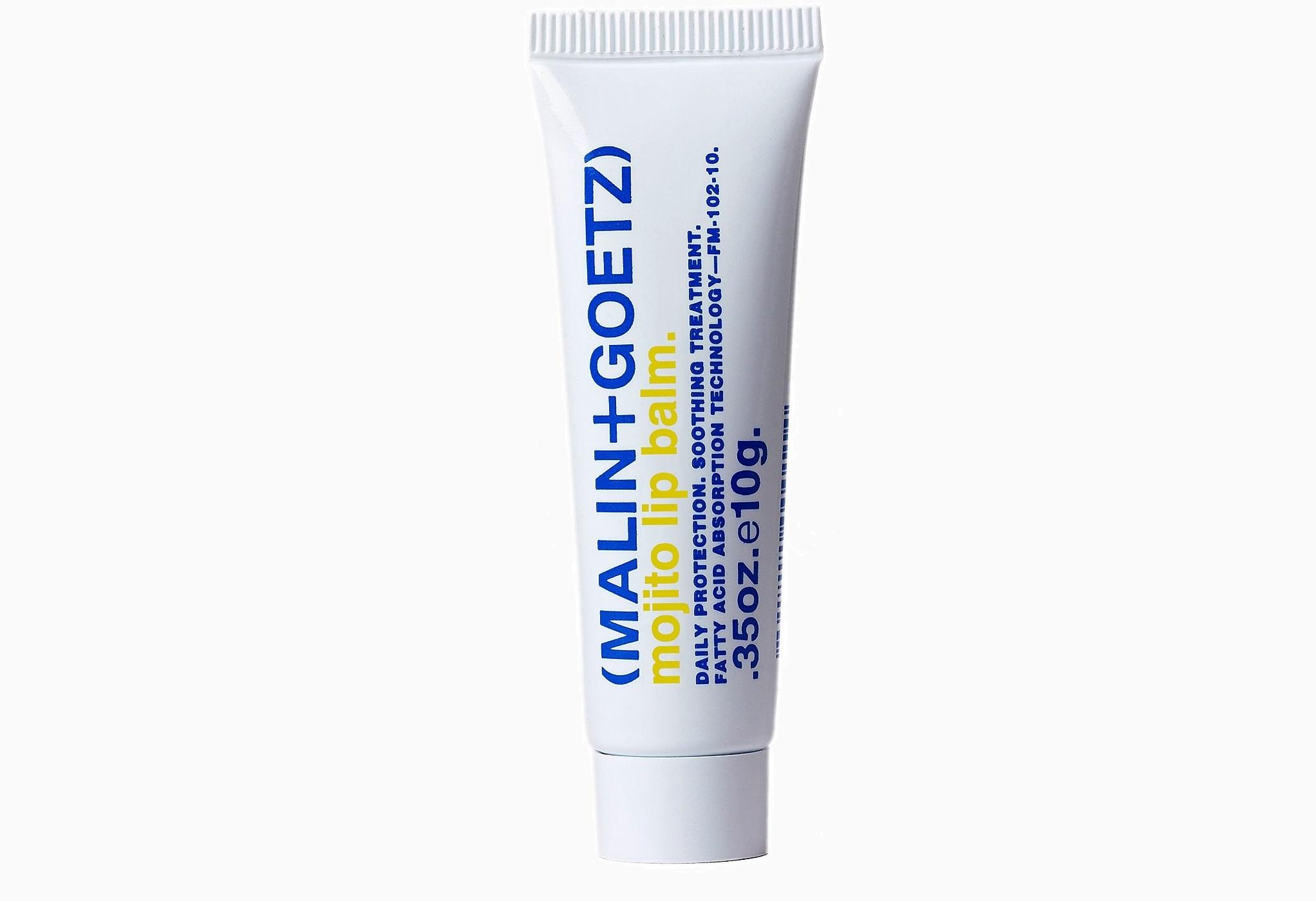 Бальзам для губ Malin Goetz Mojito Lip Balm от Malin Goetz 870 руб. 9 бальзамов для губ,<br /> без которых не обойтись в снежную метель
