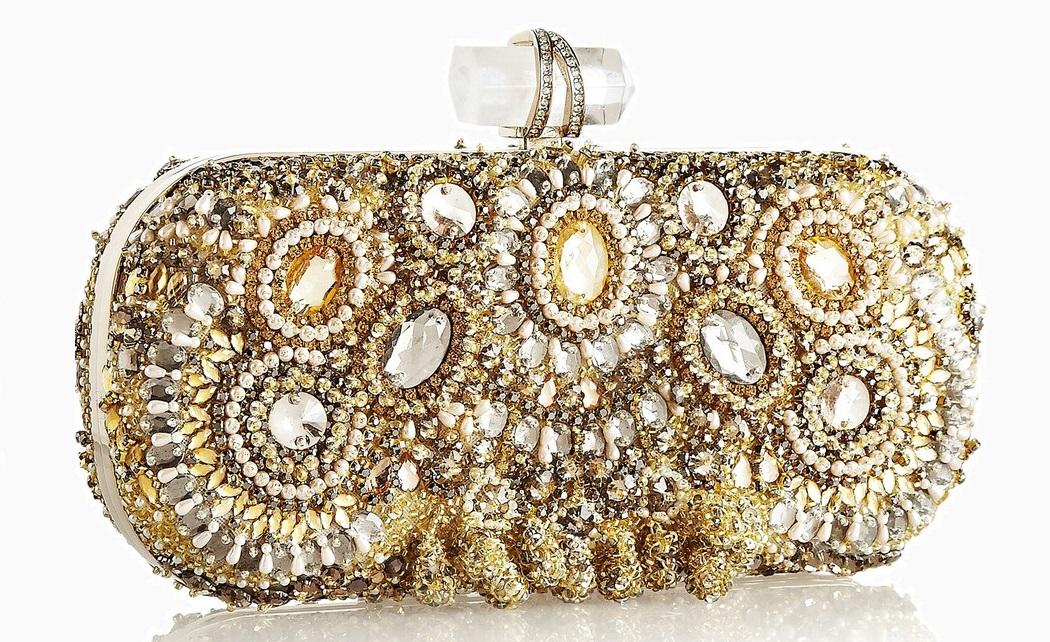 Вечерний клатч MARCHESA £2108 От 1 500 и до…: <br/> ищем идеальный клатч для новогодней ночи