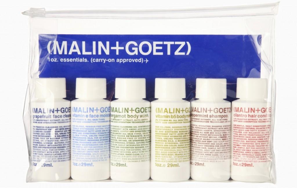 Дорожный набор Malin+Goetz (2 200 руб.)