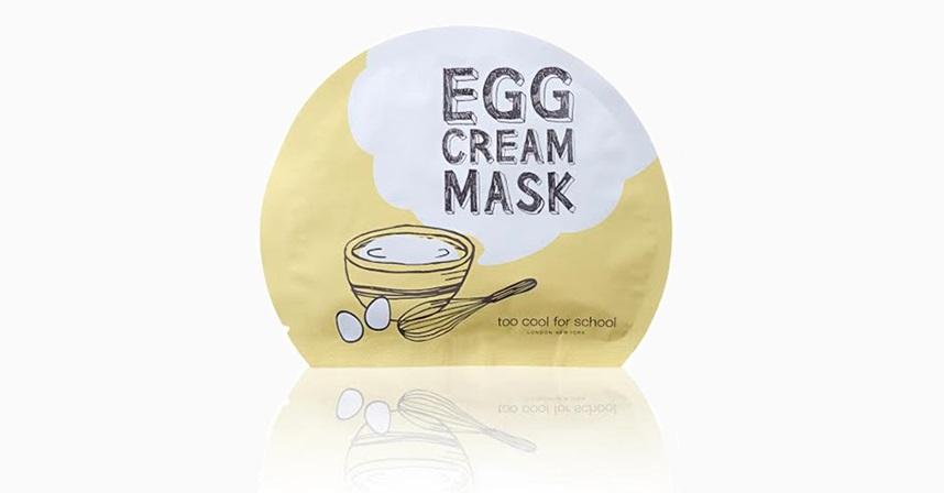 Тканевая маска с яичным экстрактом Egg Cream от Too Cool for School (350 руб. за 2 шт.)