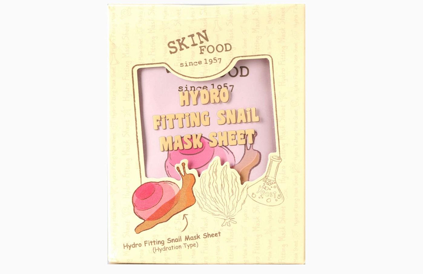 Тканевая маска Skinfood Hydro Fitting Snail Mask Sheet от Skinfood (1 100 руб. за 5 шт.)