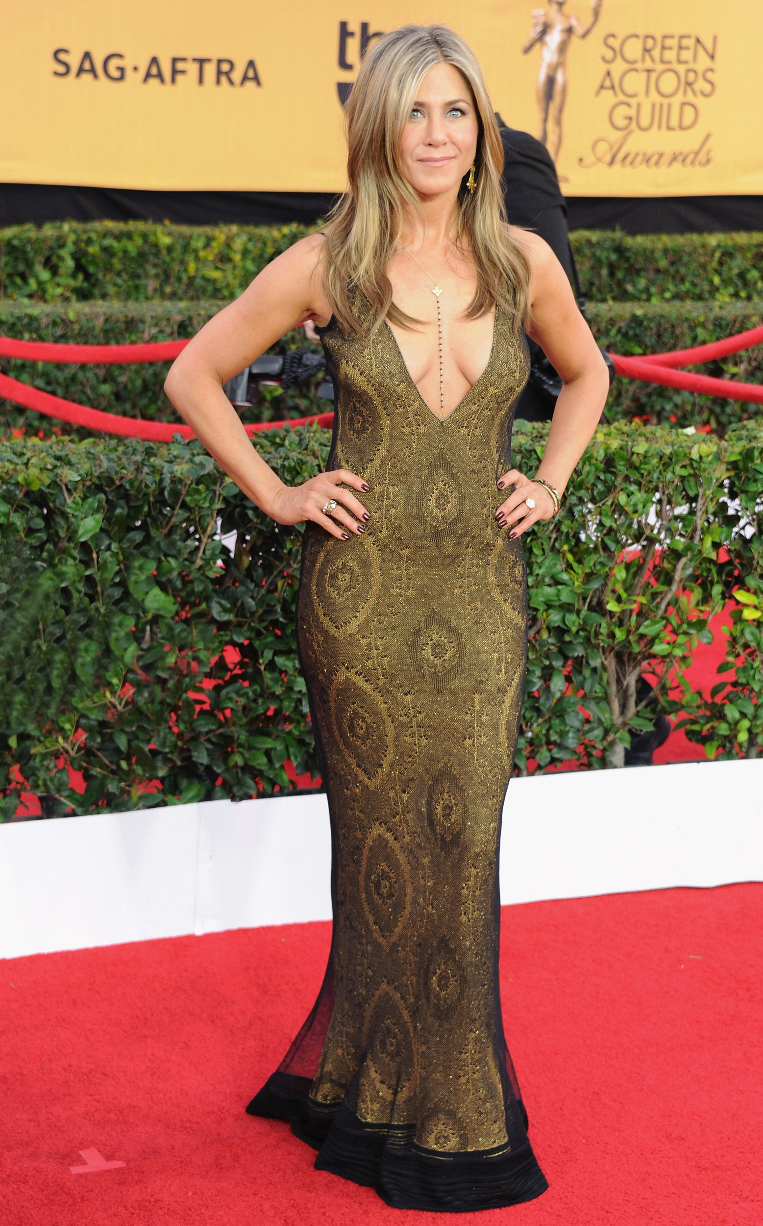 21st annual screen actors guild awards arrivals 1 Самые красивые украшения церемонии Screen Actors Guild Award 2015