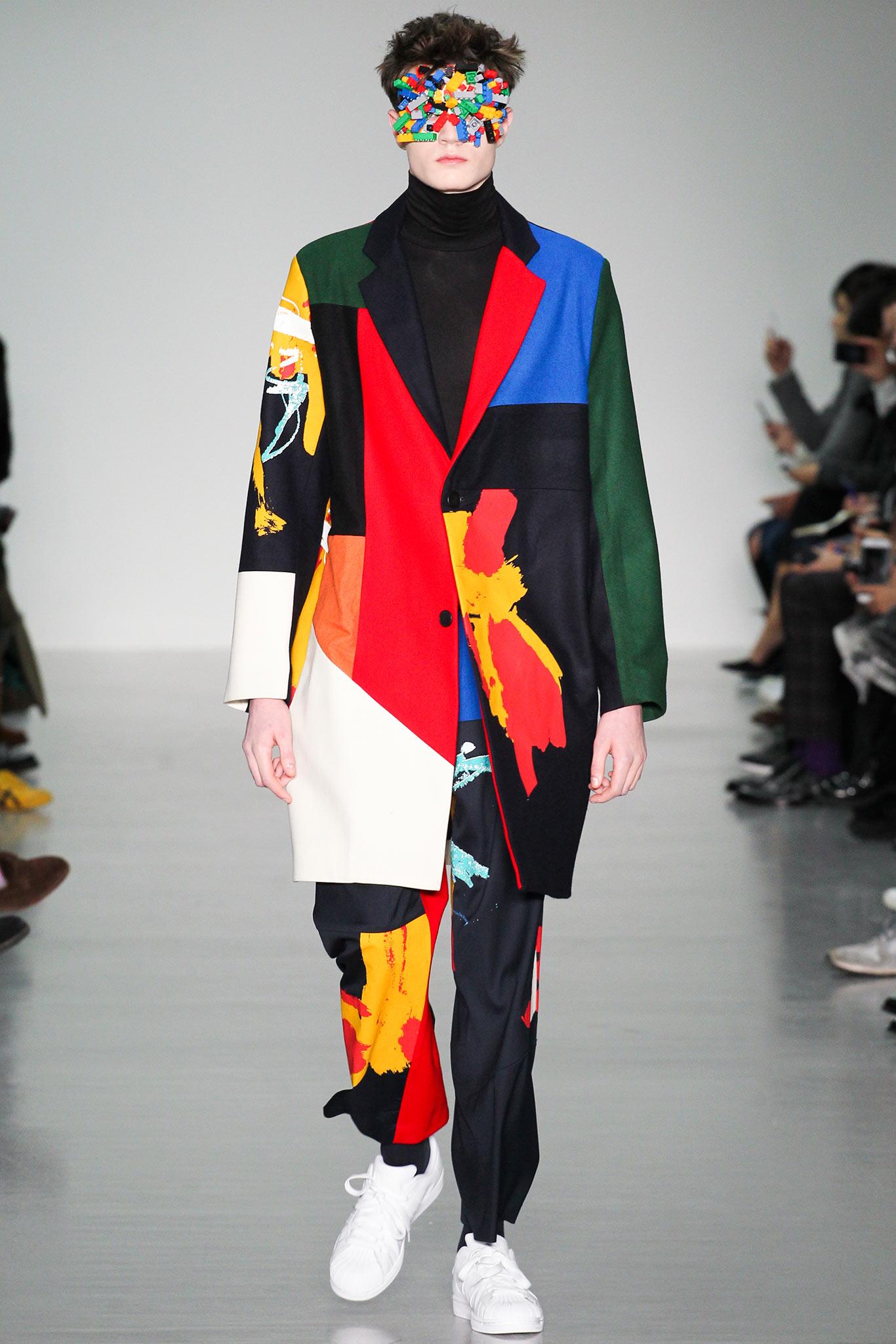 Agi Sam осень зима 20152016 Самые нелепые мужские образы с Недели моды в Лондоне