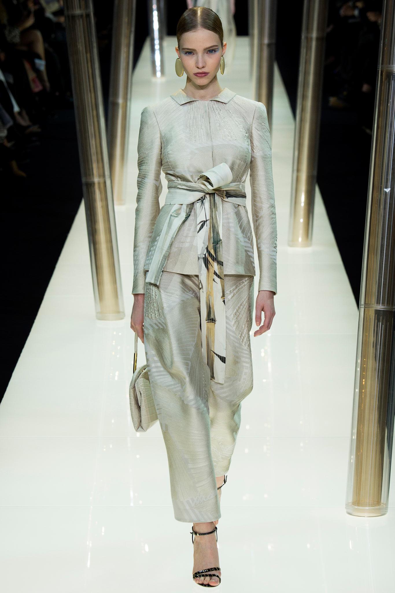Armani Privé Haute Couture 2015 2 Самые носибельные образы с Недели моды haute couture в Париже