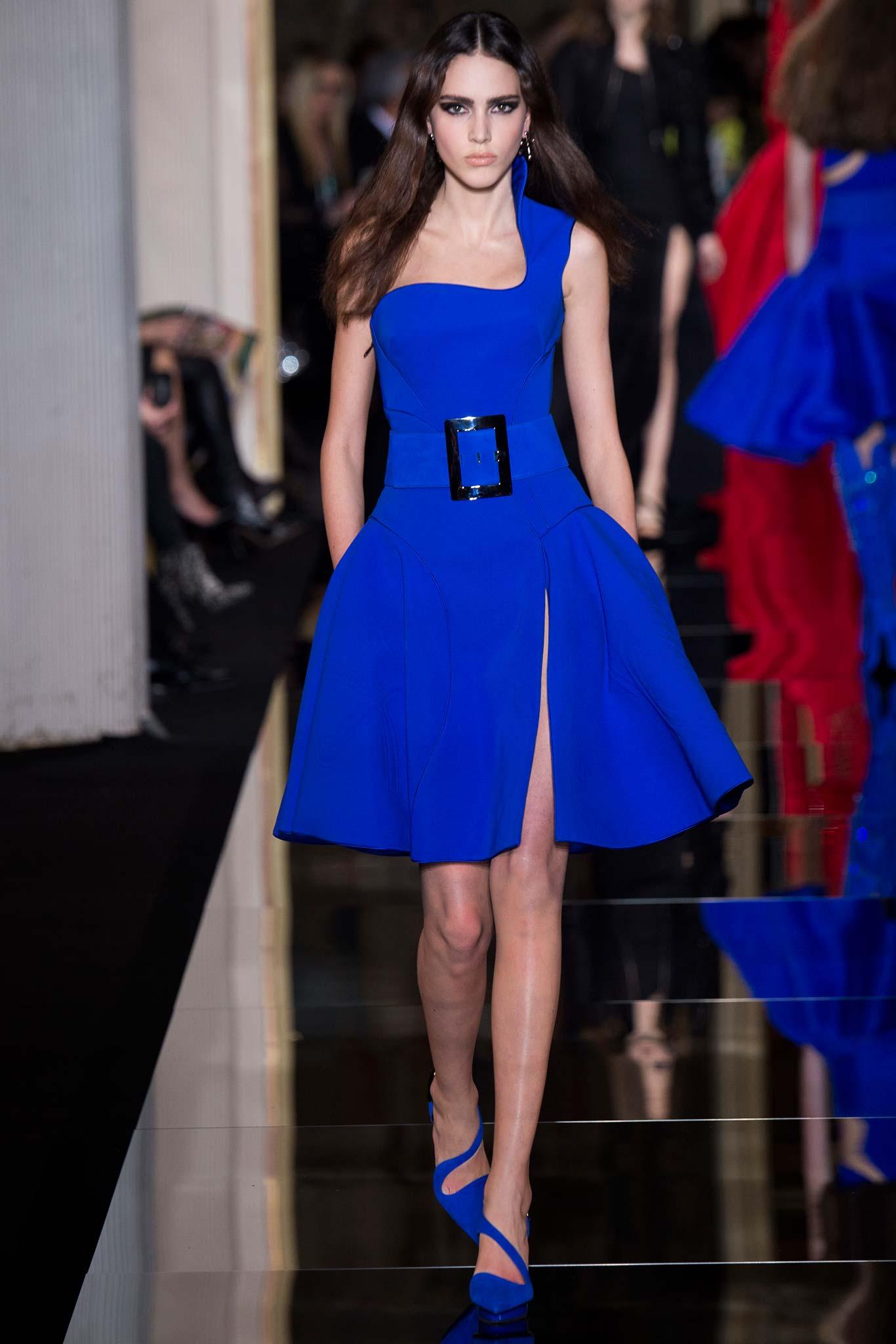 Atelier Versace Haute Couture 2015 Самые носибельные образы с Недели моды haute couture в Париже