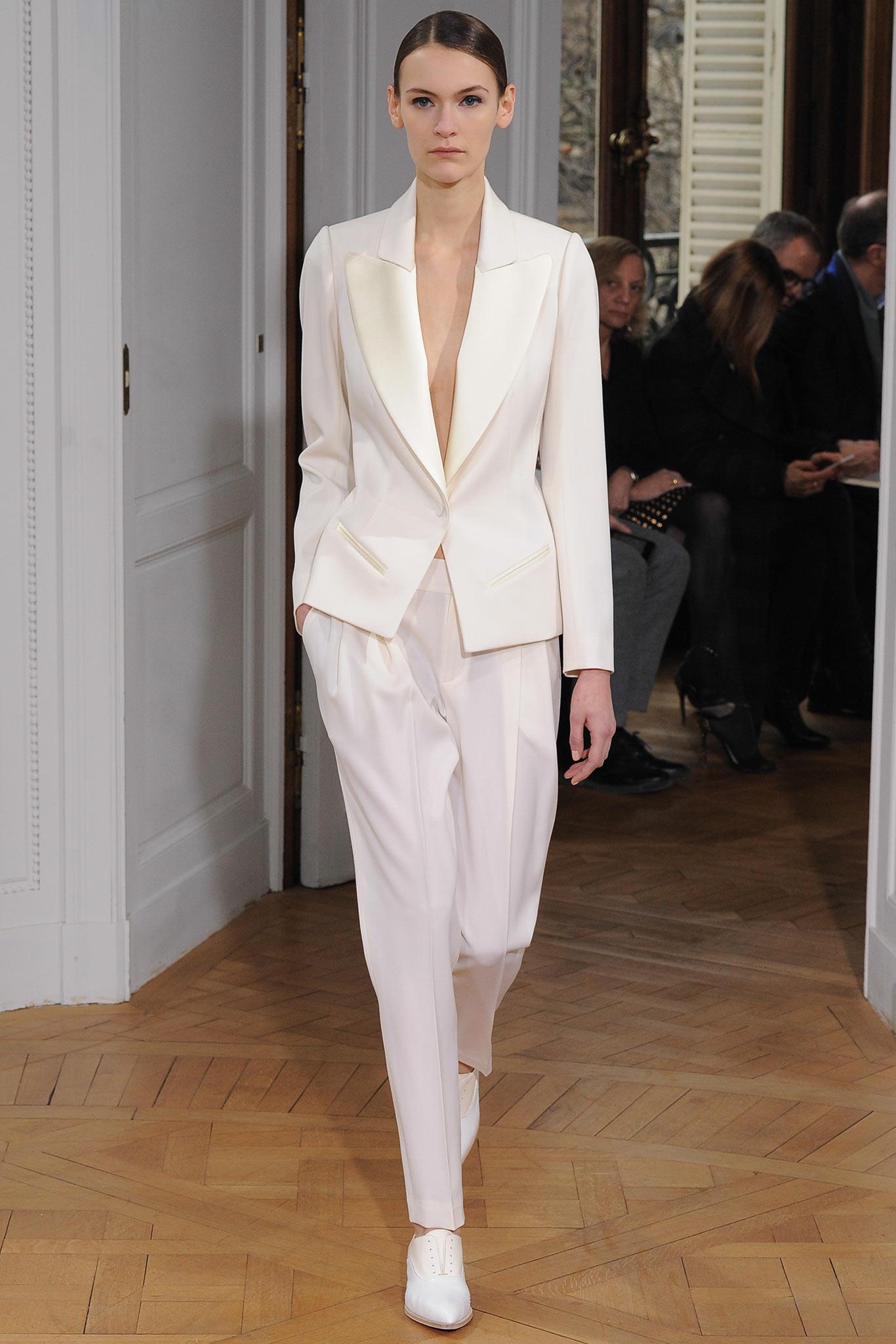 Bouchra Jarrar Haute Couture 2015 2 Самые носибельные образы с Недели моды haute couture в Париже