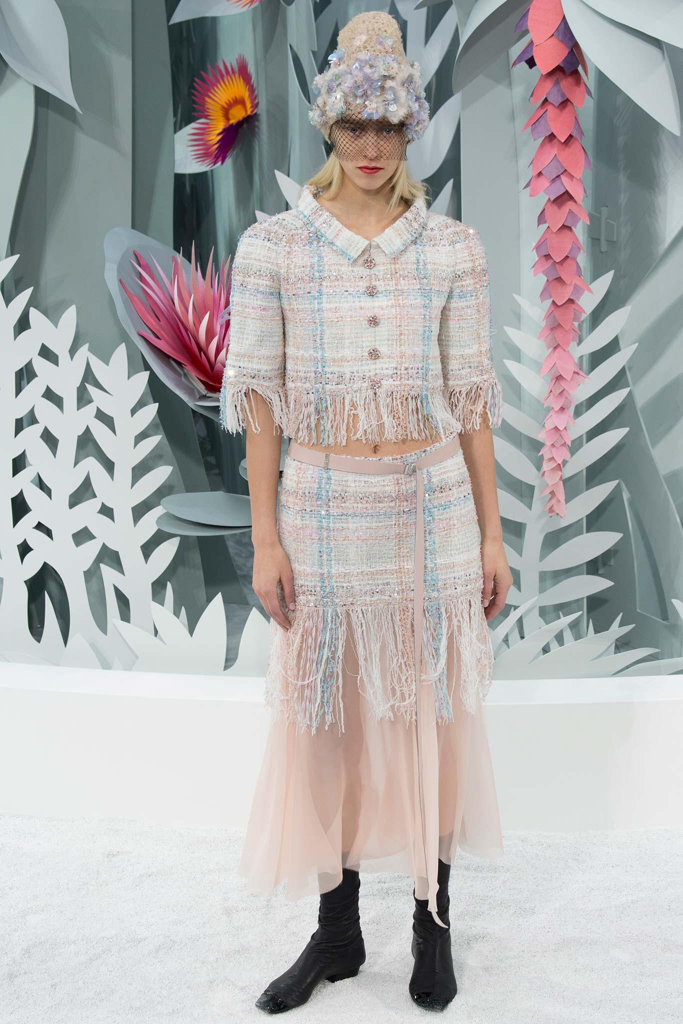Chanel Haute Couture 2015 2 Самые носибельные образы с Недели моды haute couture в Париже