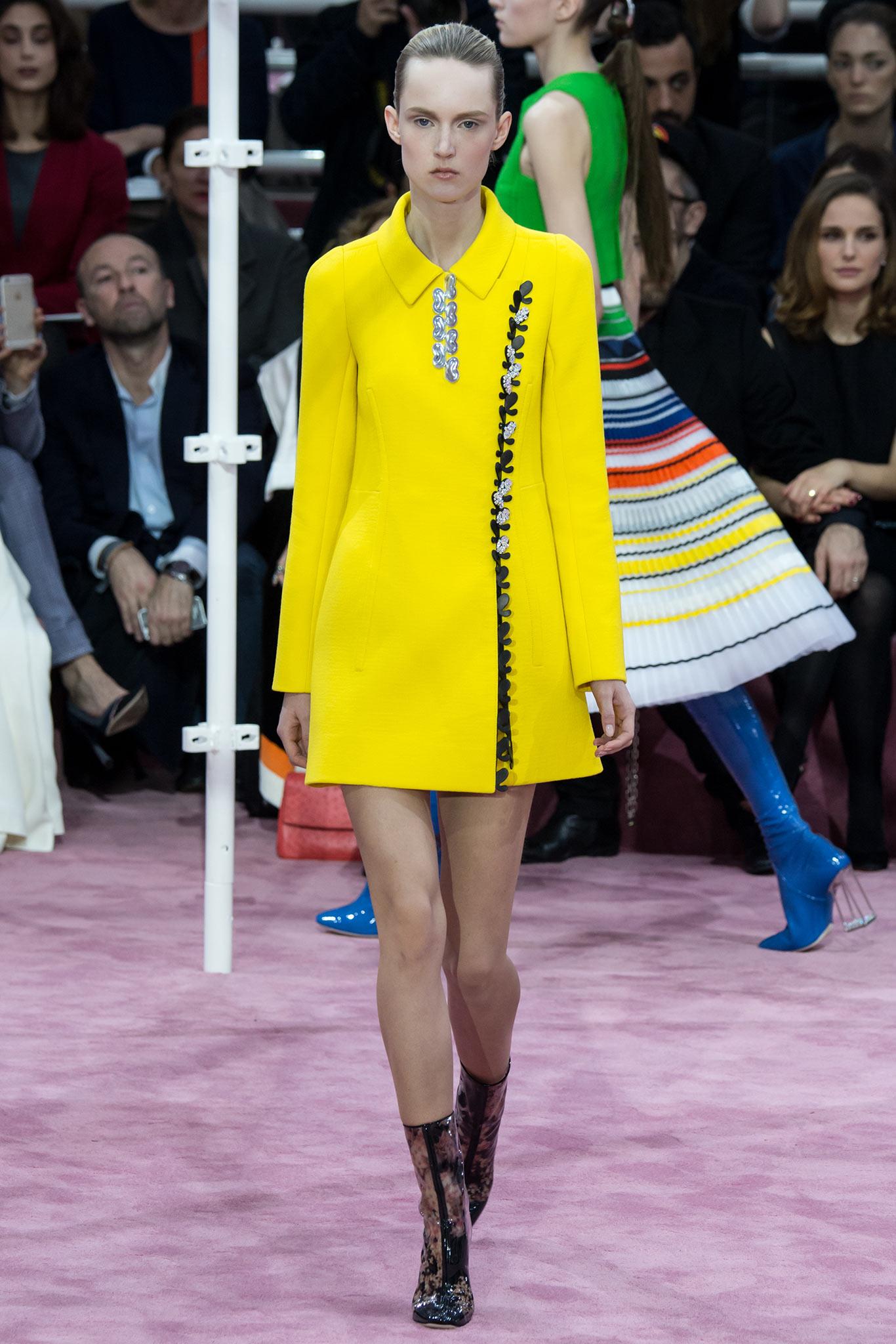 Christian Dior Haute Couture 2015 2 Самые носибельные образы с Недели моды haute couture в Париже