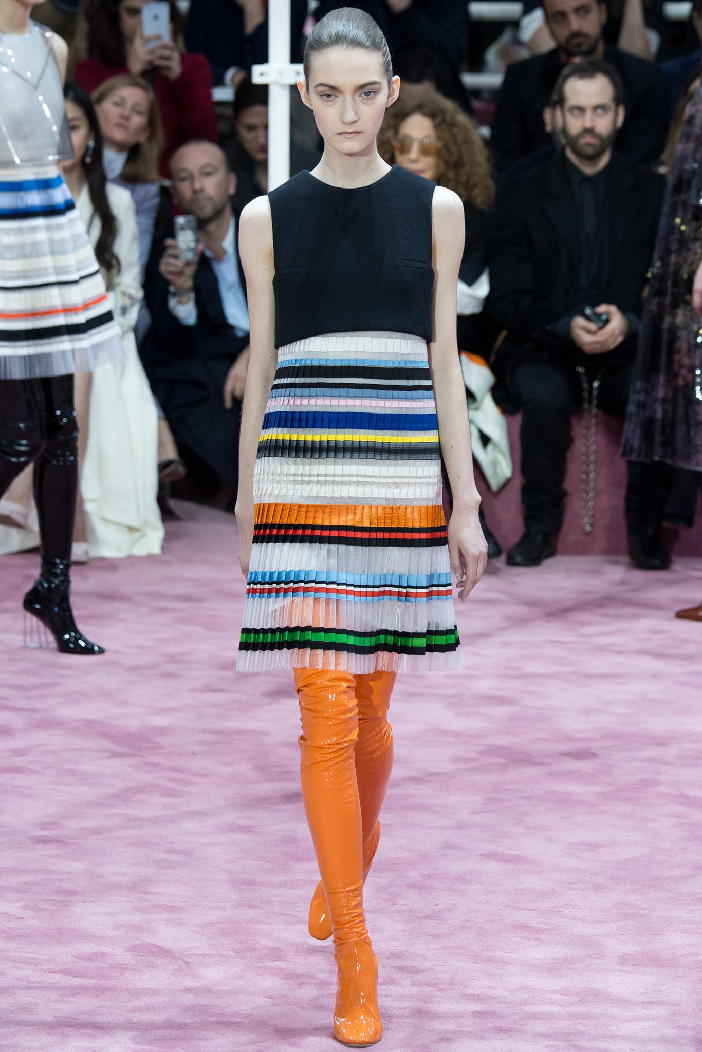 Christian Dior Haute Couture 2015 Самые носибельные образы с Недели моды haute couture в Париже