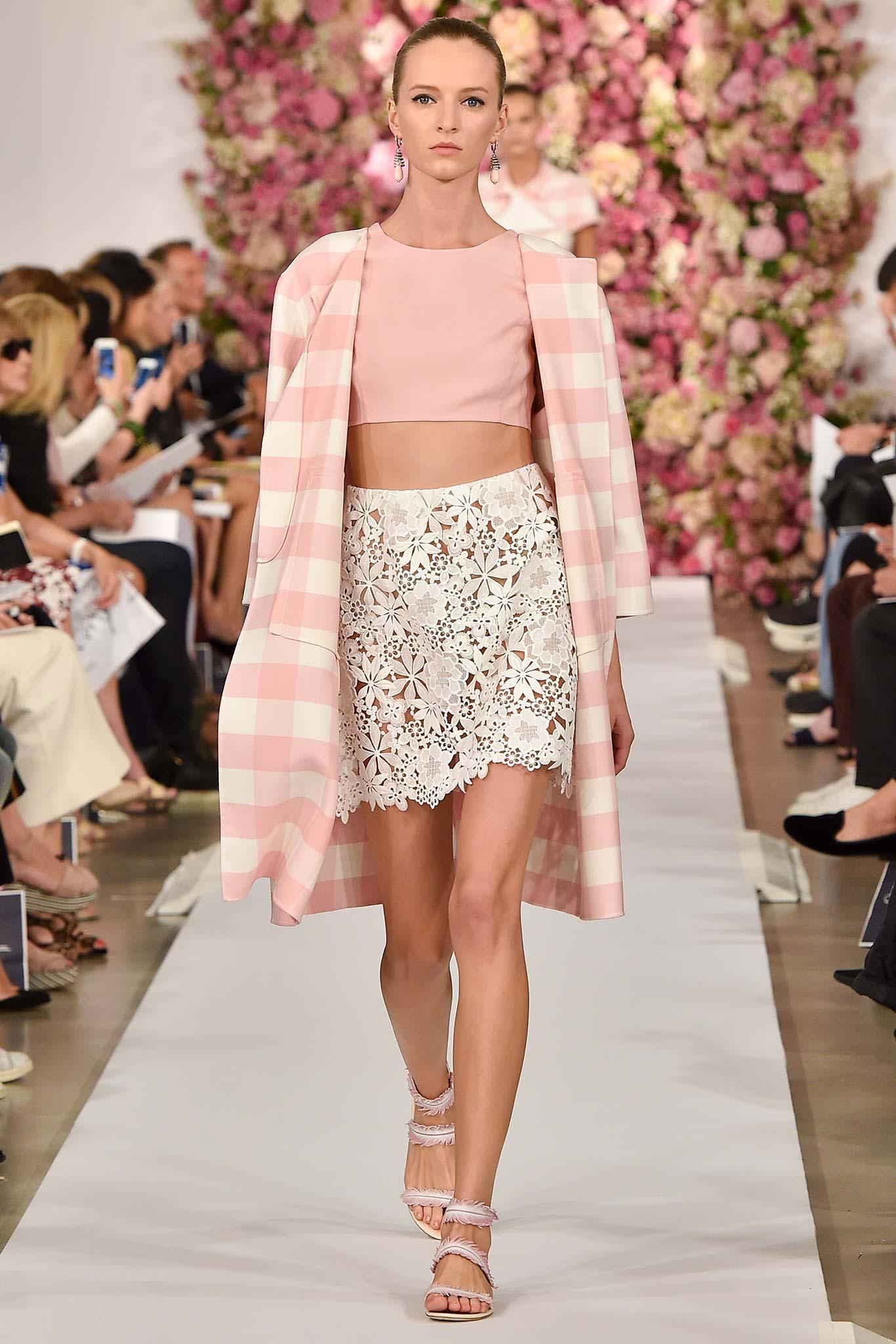 Oscar de la Renta весна лето 2015 7 самых модных вещей 2015 года
