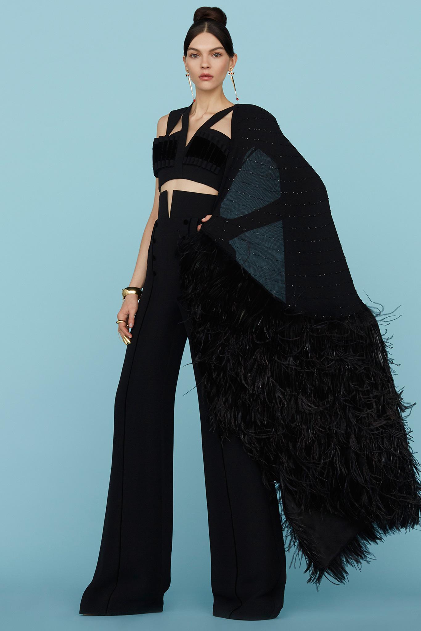 Ulyana Sergeenko Haute Couture 2015 Самые носибельные образы с Недели моды haute couture в Париже