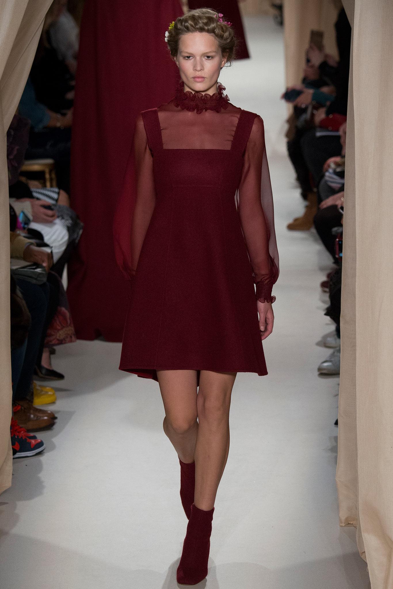 Valentino Haute Couture 2015 Самые носибельные образы с Недели моды haute couture в Париже