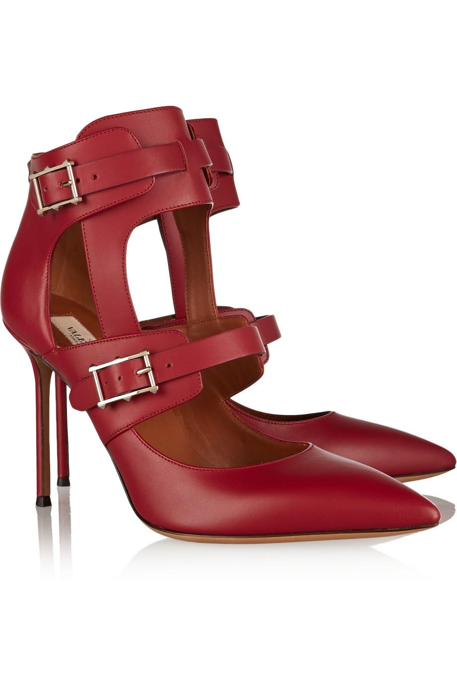 Valentino 10 красных лодочек для Дня святого Валентина