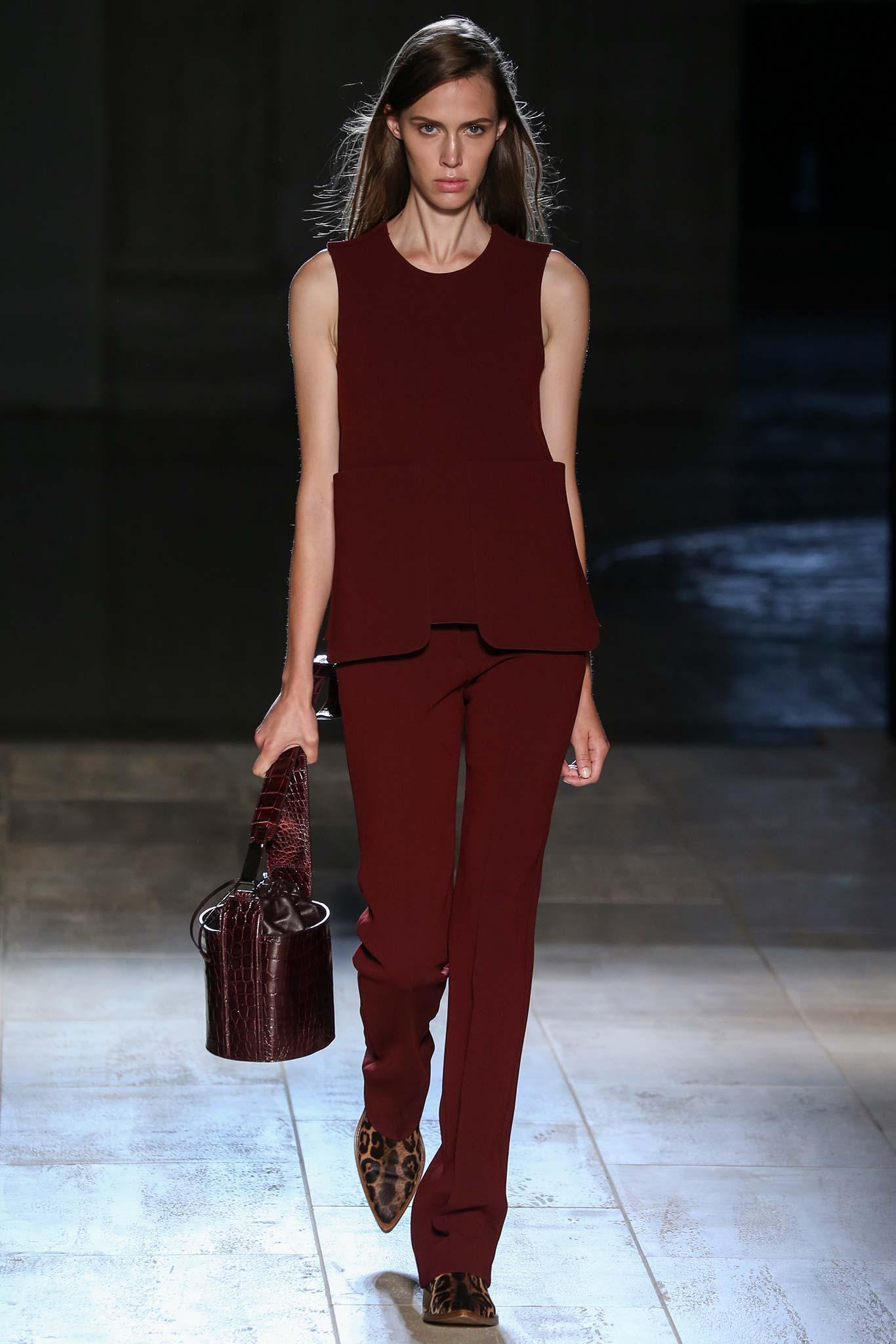 Victoria Beckham весна лето 2015 7 самых модных вещей 2015 года
