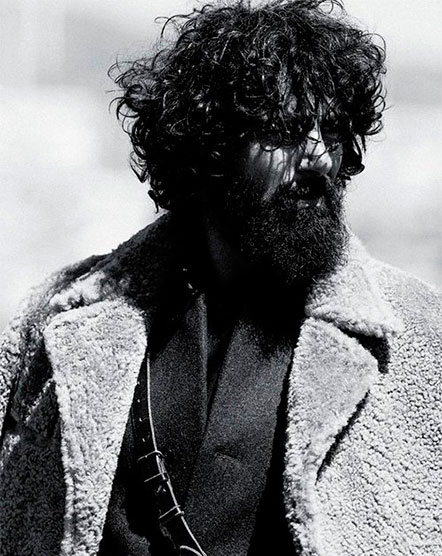 Греческая модель Параскевас Бубуракас 2 Брутальный лесоруб – наш новый модный герой?
