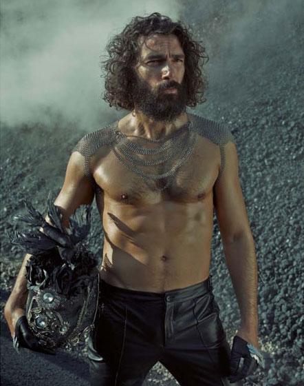 Греческая модель Параскевас Бубуракас Брутальный лесоруб – наш новый модный герой?