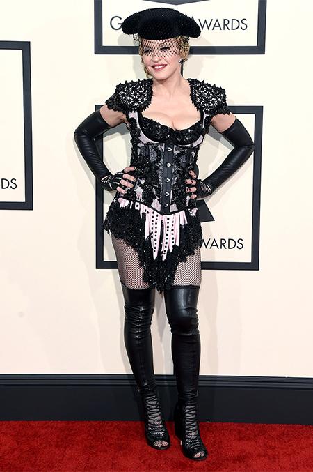Мадонна на церемонии Grammy 2015 – самые волнующие моменты церемонии
