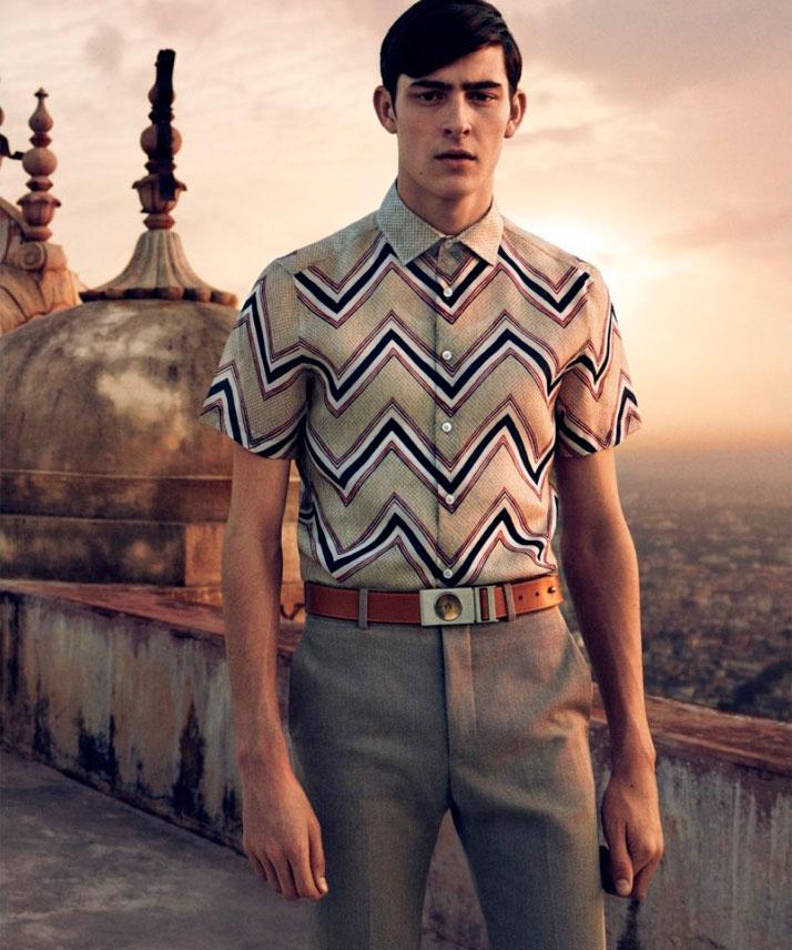 Рекламная кампания Louis Vuitton весна лето 2015 Брутальный лесоруб – наш новый модный герой?