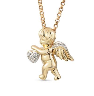 14399 Подвеска «Ангел» из золота