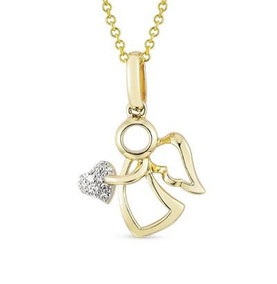 14568 Подвеска «Ангел» из золота
