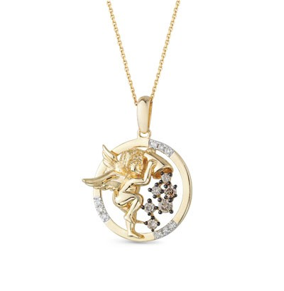 8174 Подвеска «Ангел» из золота