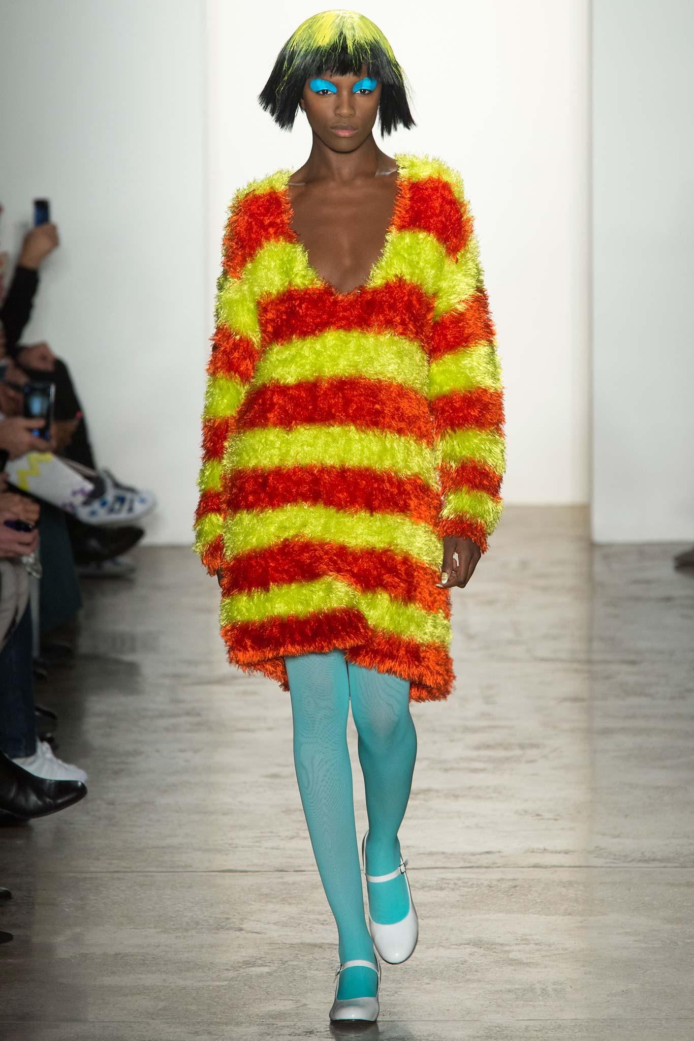 Jeremy Scott осень зима 2015 2016 10 трендов с Недели моды в Нью Йорке, которые нас возмутили