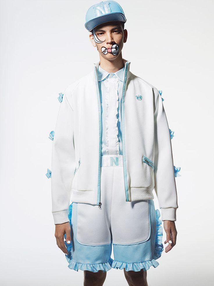Nicopanda by Nicola Formichetti весна лето 2015 Брутальный лесоруб – наш новый модный герой?