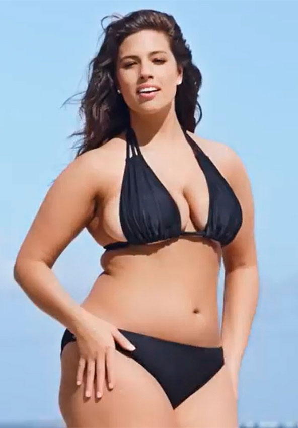 la et mg ashley graham sports illustrated swimsuit plus size model 20150204 Ирина Шейк или модель pluse size: <br/> кто круче?