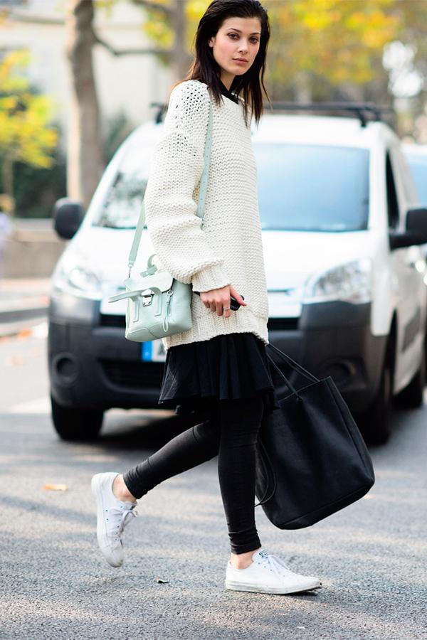 Комфортный casual 5 идей, как носить легинсы и выглядеть круто