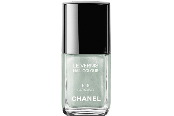 Лак для ногтей № 645 Paradisio от Chanel 1 473 руб. 9 зеленых лаков для ногтей из коллекций весна лето 2015