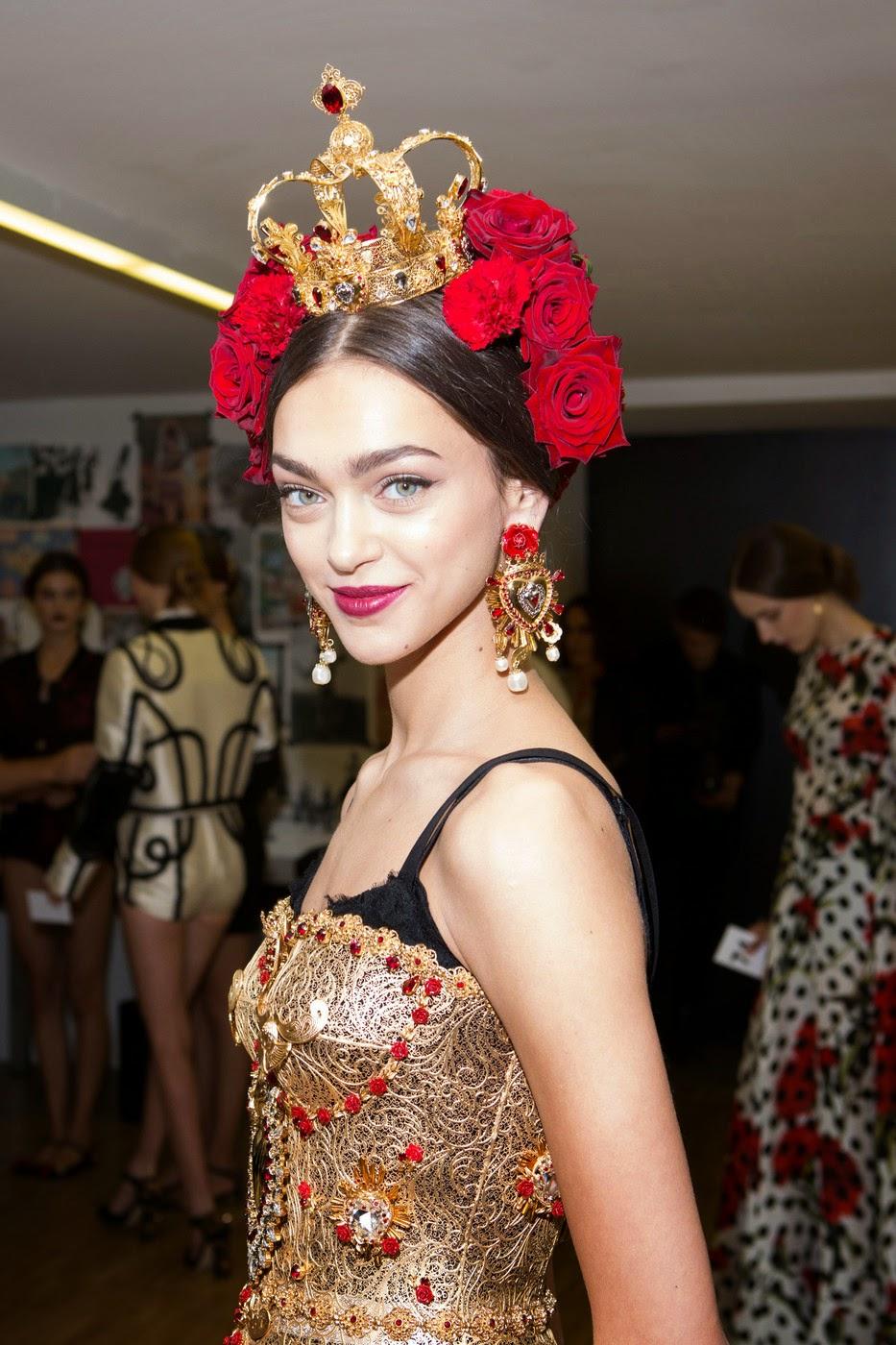 Тренд 3 Dolce Gabbana серьги Какие украшения носить весной?  3 главных тренда в нашем обзоре