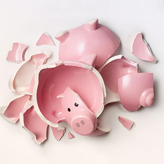 BrokenPig Банкротство