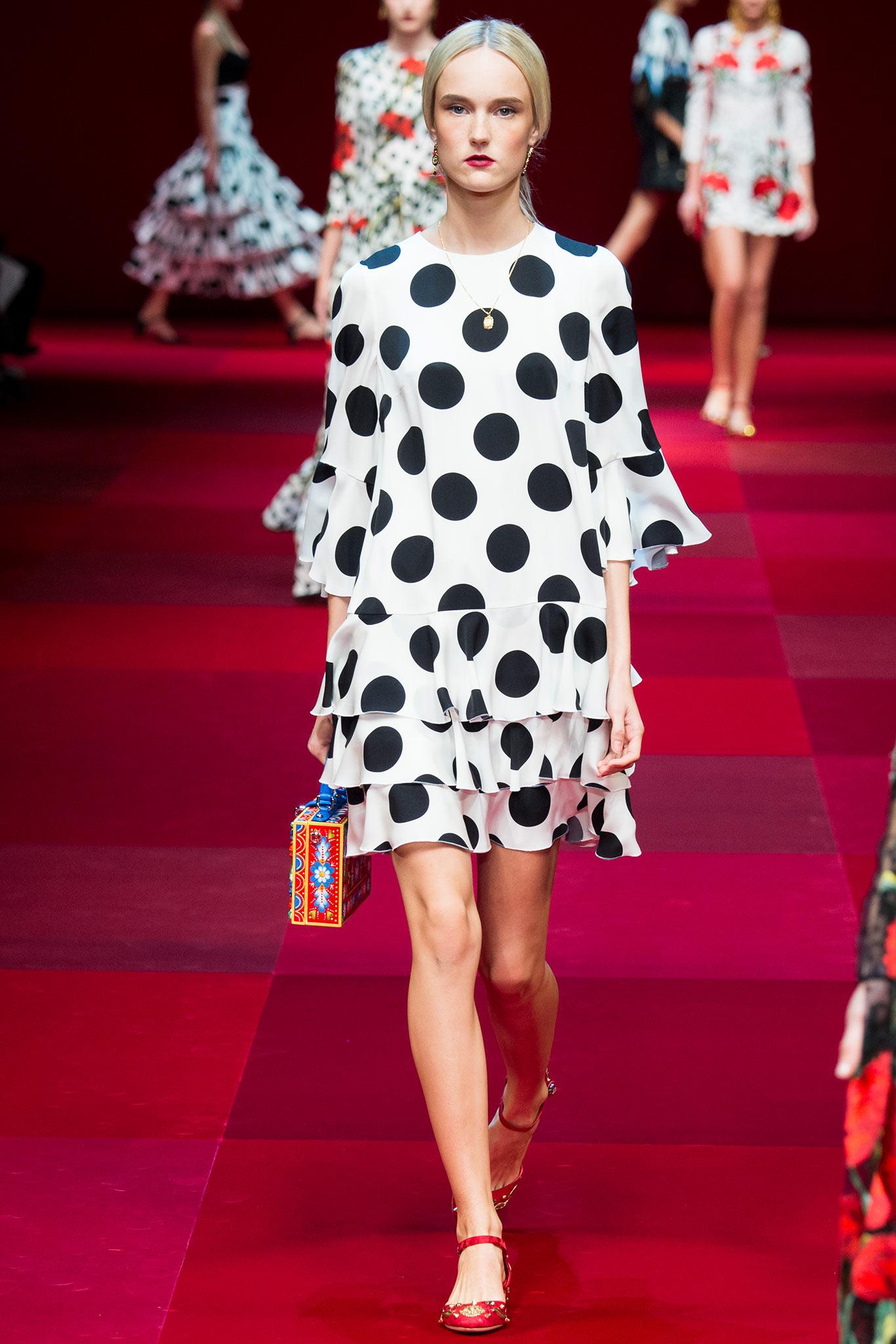 Dolce Gabbana Самые модные принты наступающей весны