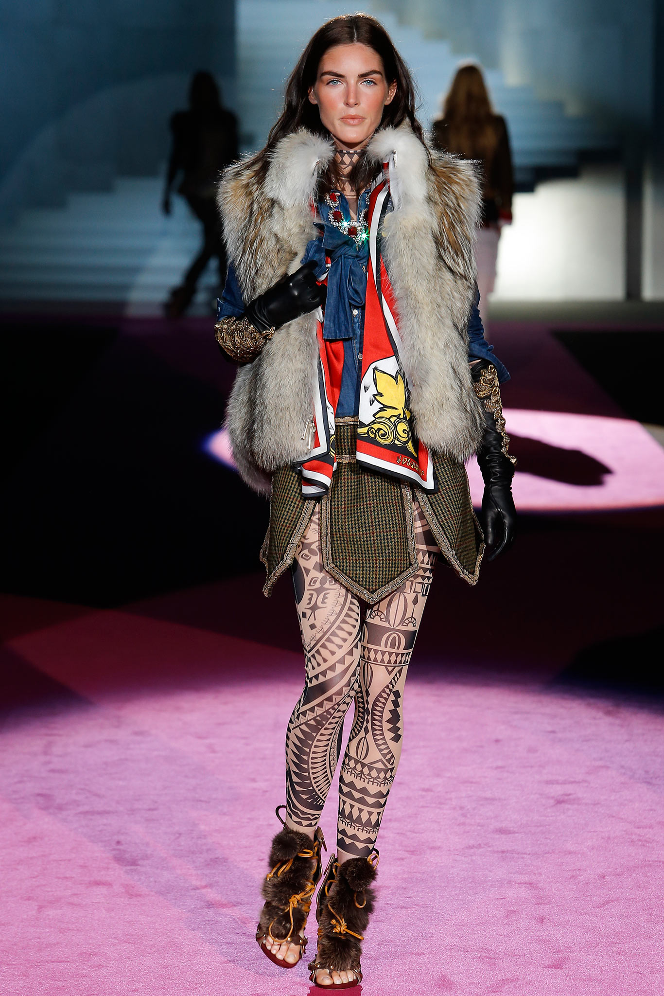 Dsquared2 весна лето 2015 Неделя моды в Милане: 6 тенденций, которые точно приживутся в России