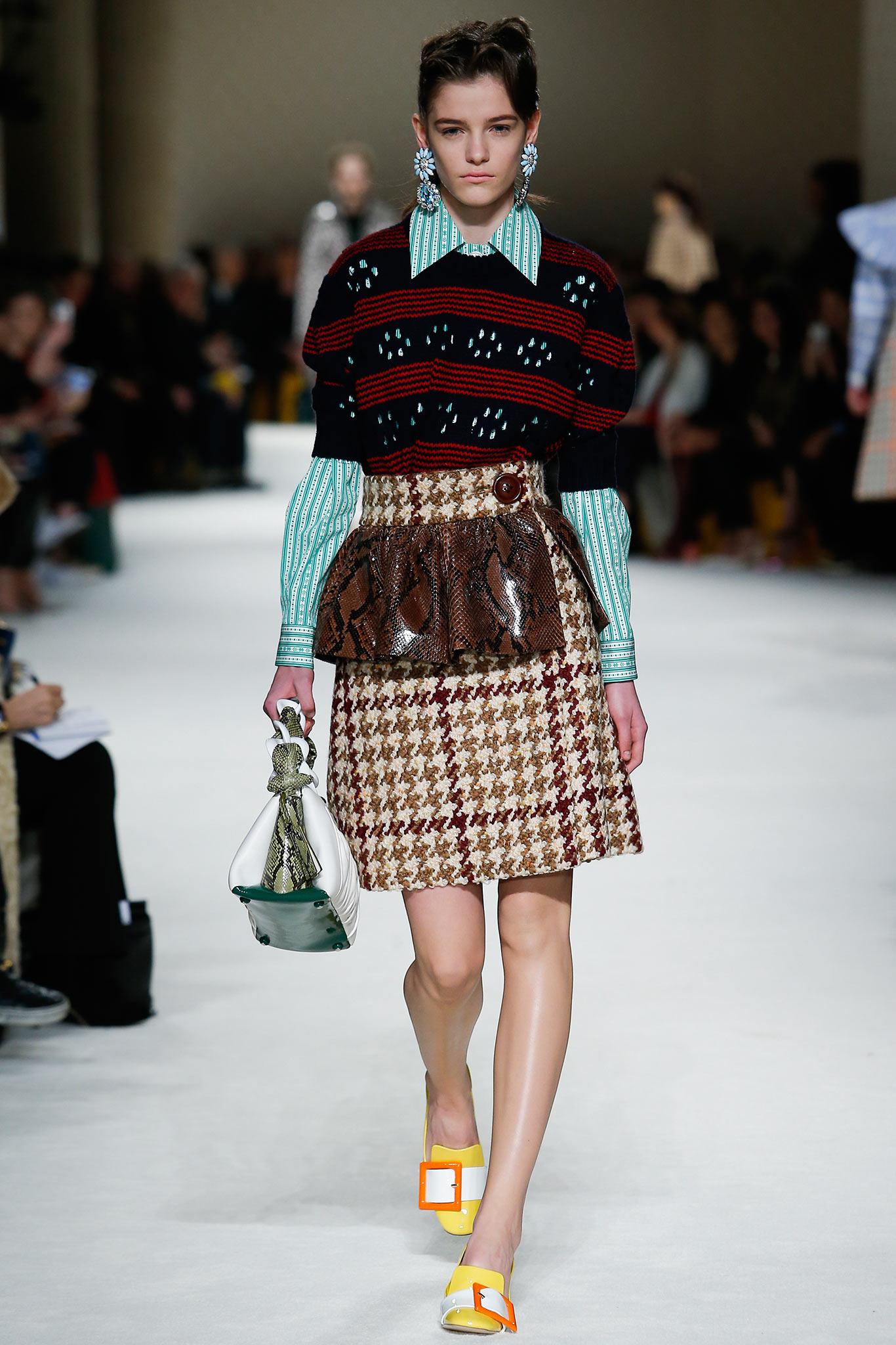 Miu Miu осень зима 20152016 Неделя моды в Париже: во что превращаются показы сегодня?