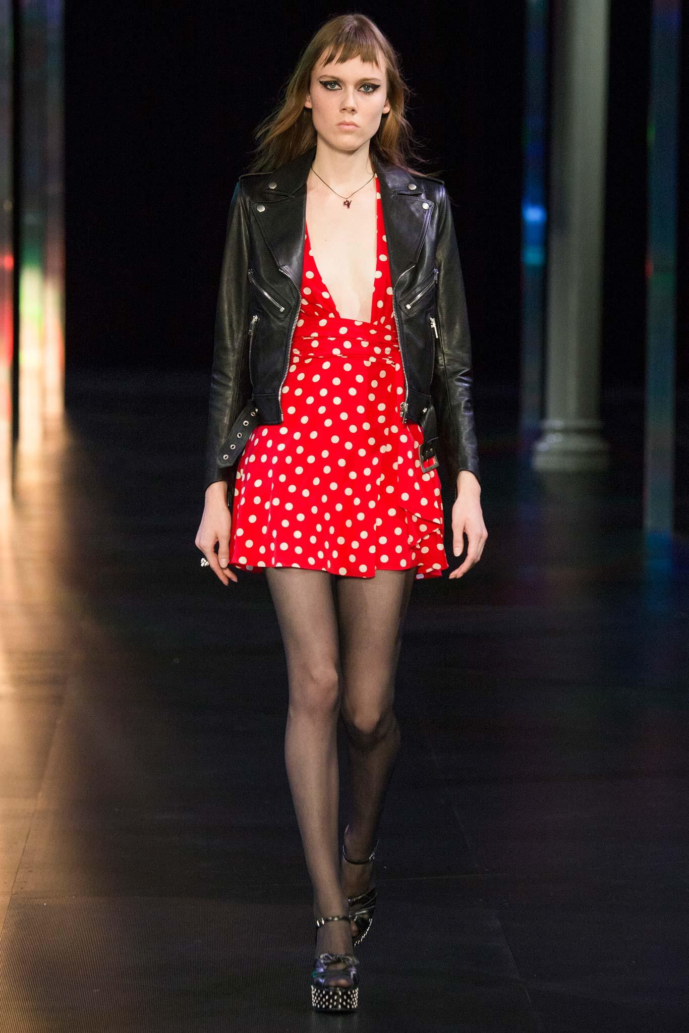 Saint Laurent Самые модные принты наступающей весны